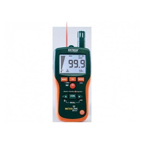 Extech MO297: Moisture meter, pinless with memory
